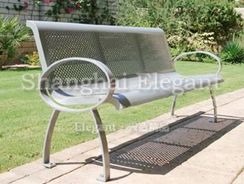 尊尚精品钢结构城市座椅-雅悠·中国垃圾桶制造专家
